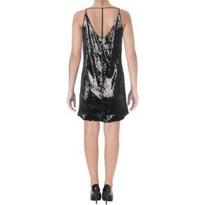 NWT Aqua Strappy Back Sequin Dress